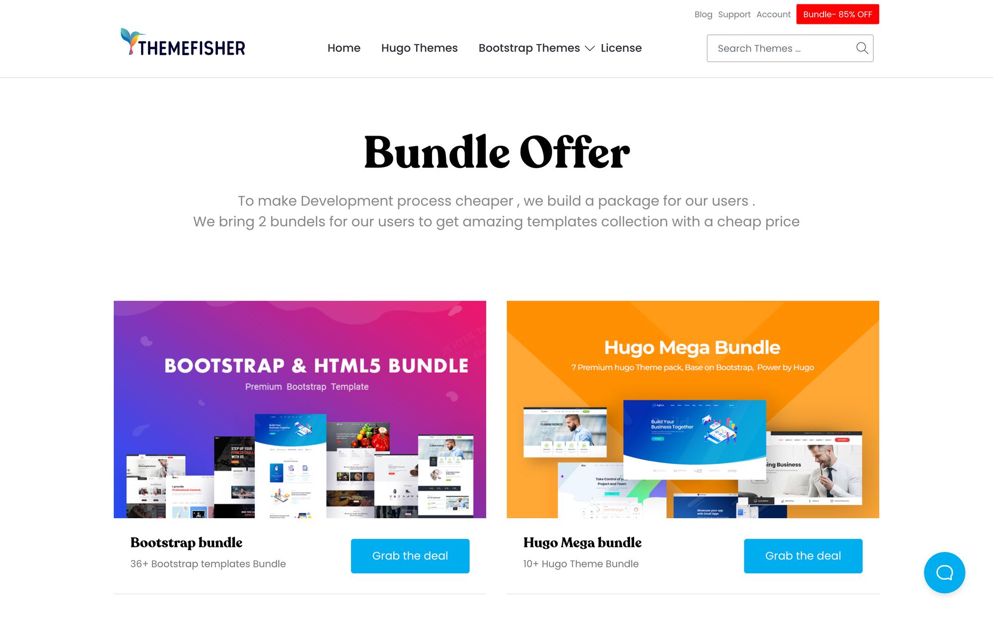 themefisher deals