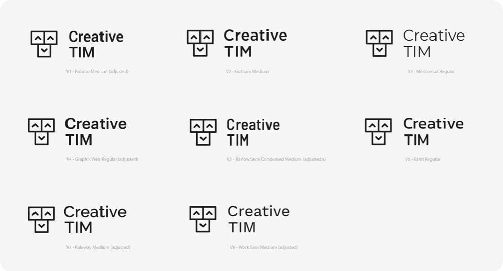 New Logo Examples