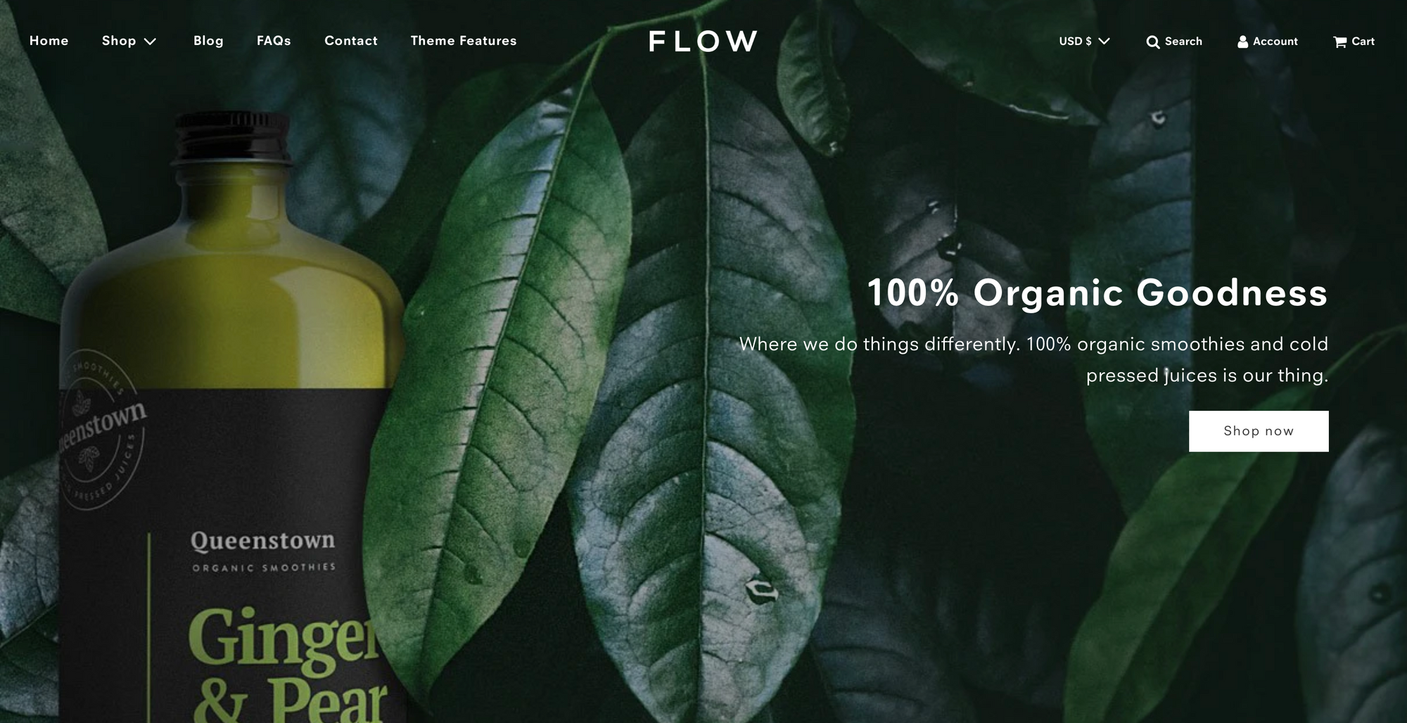 flow shopify template