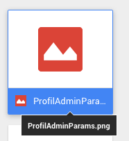 Google Drive Tooltip