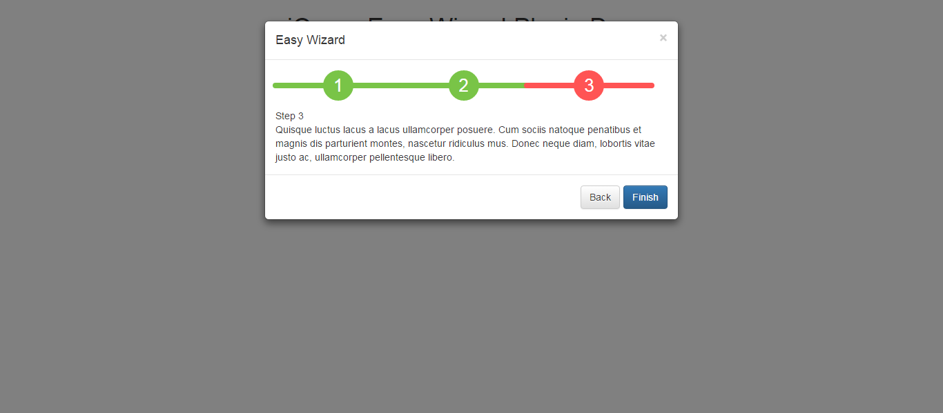 easy bootstrap wizard