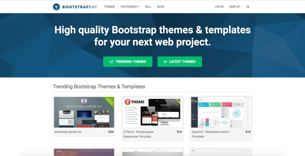 bootstrapbay.com website
