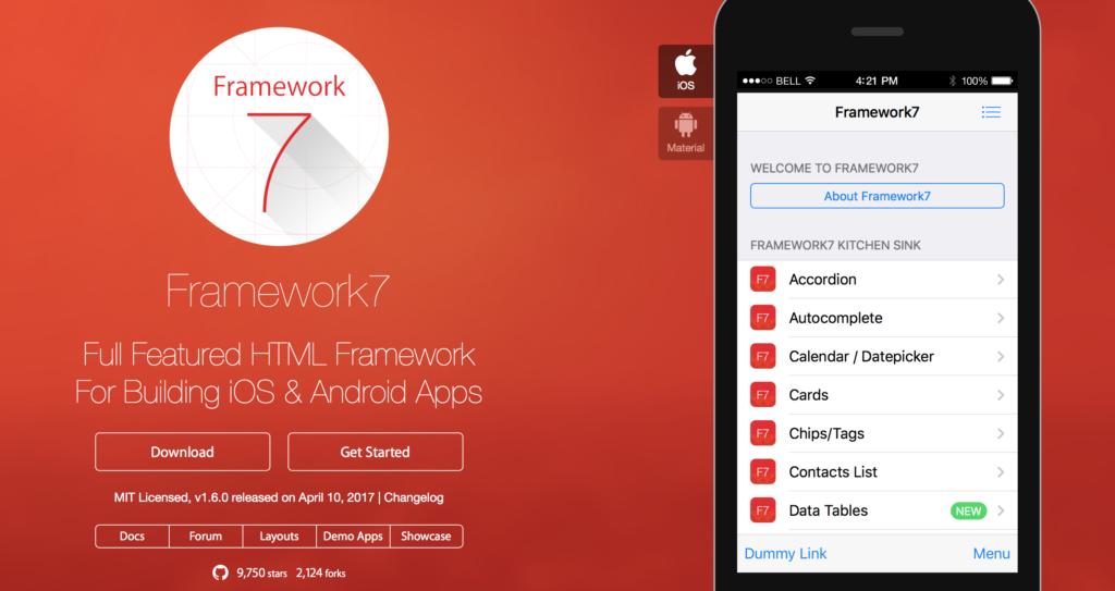 vuejs examples-framework 7