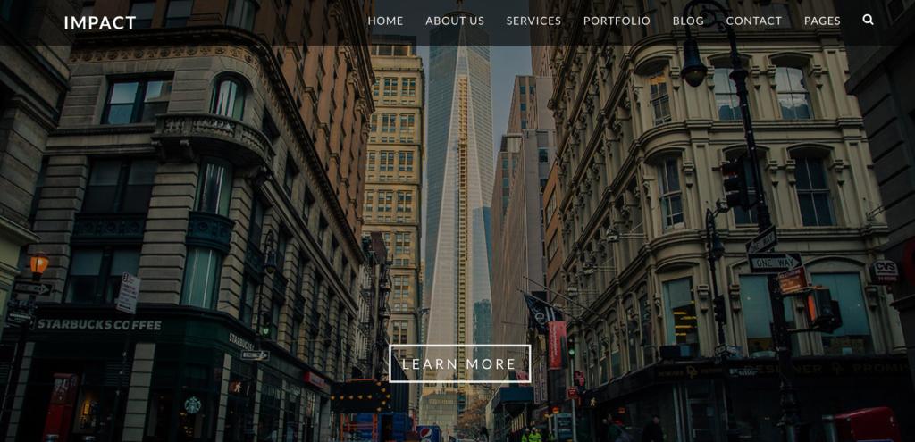 impact-Bootstrap 4 UI Kit