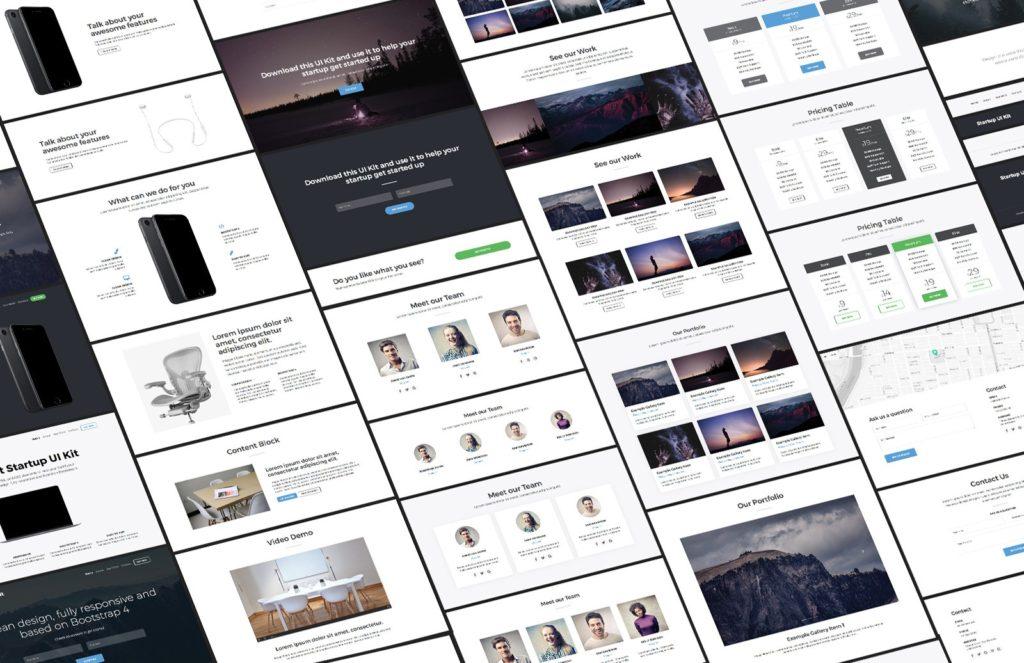medialoot-Bootstrap 4 UI Kit
