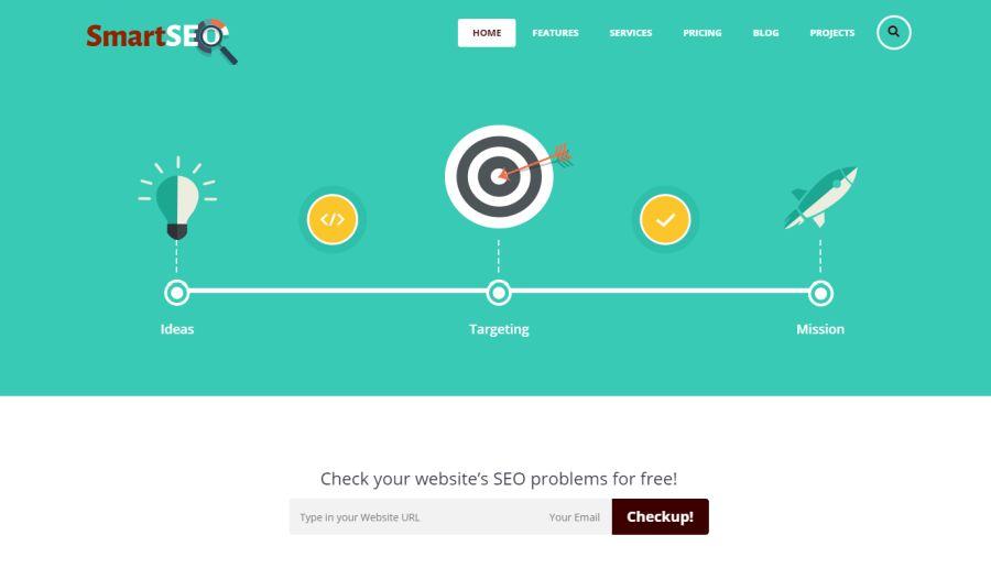 Smart SEO & Marketing HTML Theme