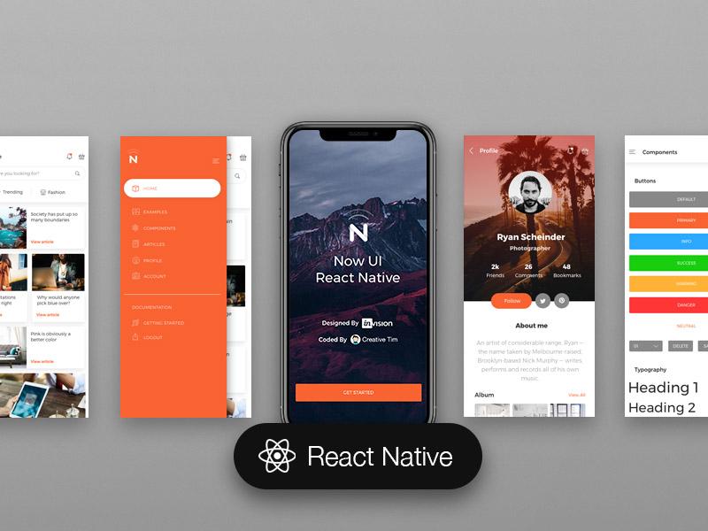 Now UI React Native