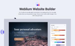 Weblium Online Page Builder