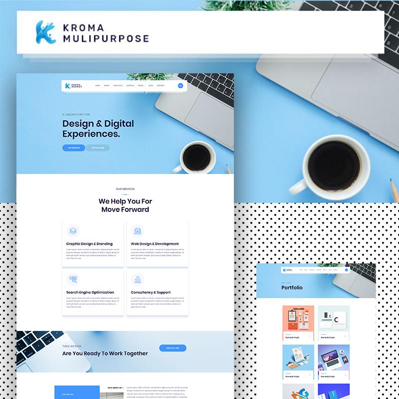 Kroma | Creative Multipurpose Website Template