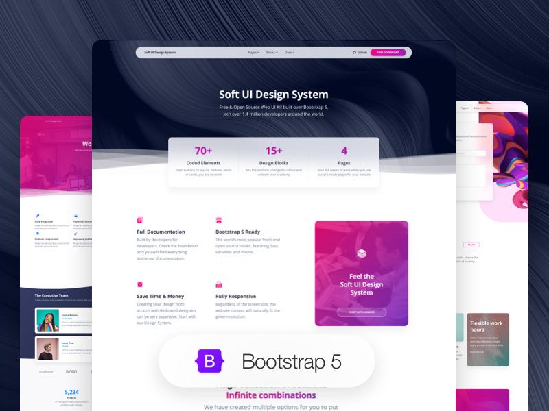 bootstrap 5 design system