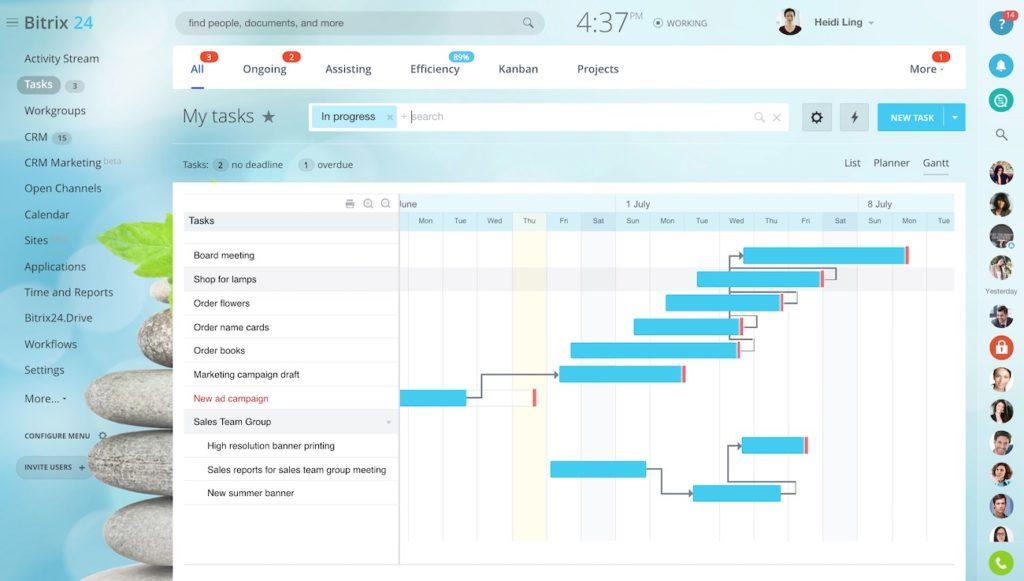 bitrix productivity tools