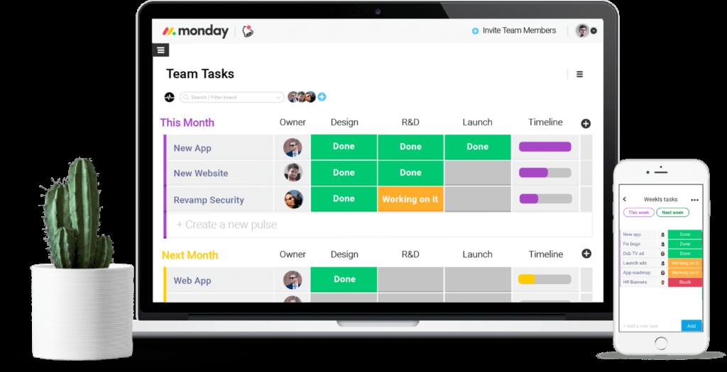 monday productivity tools