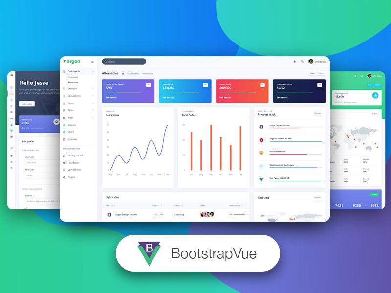 BootstrapVue Argon Dashboard PRO