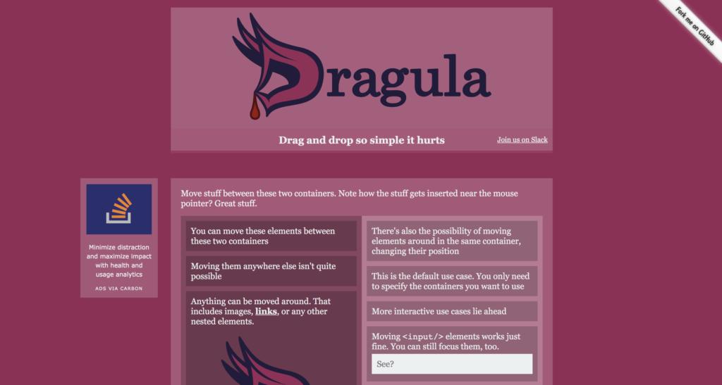 dragula angular components