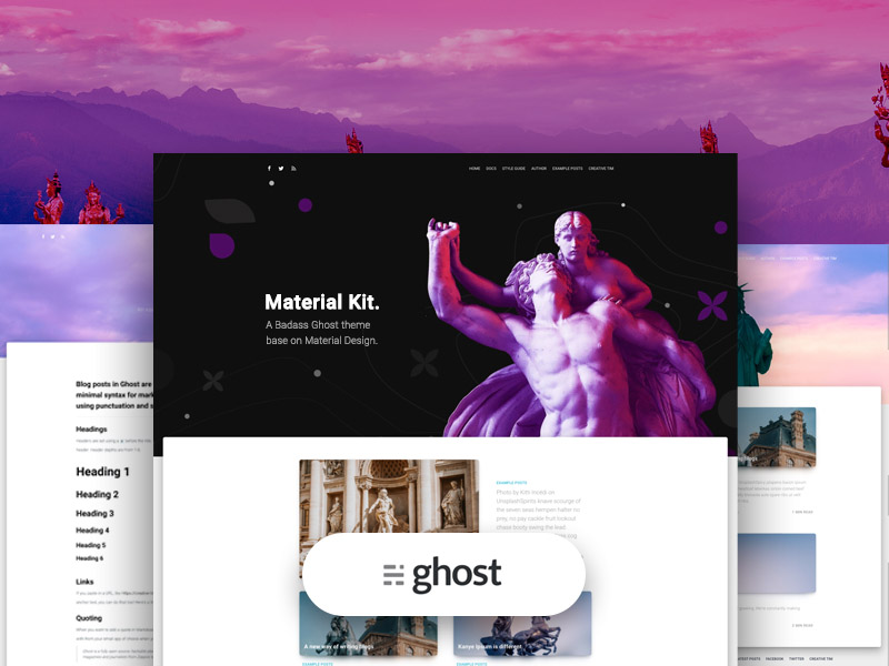 material kit ghost