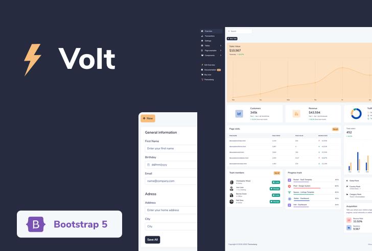 Bootstrap 5 Dashboard Template