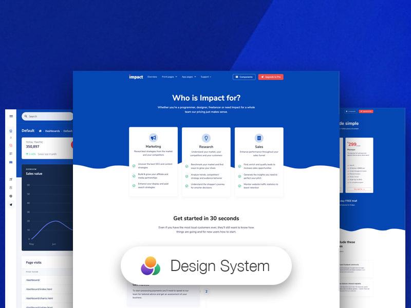 impact design system free