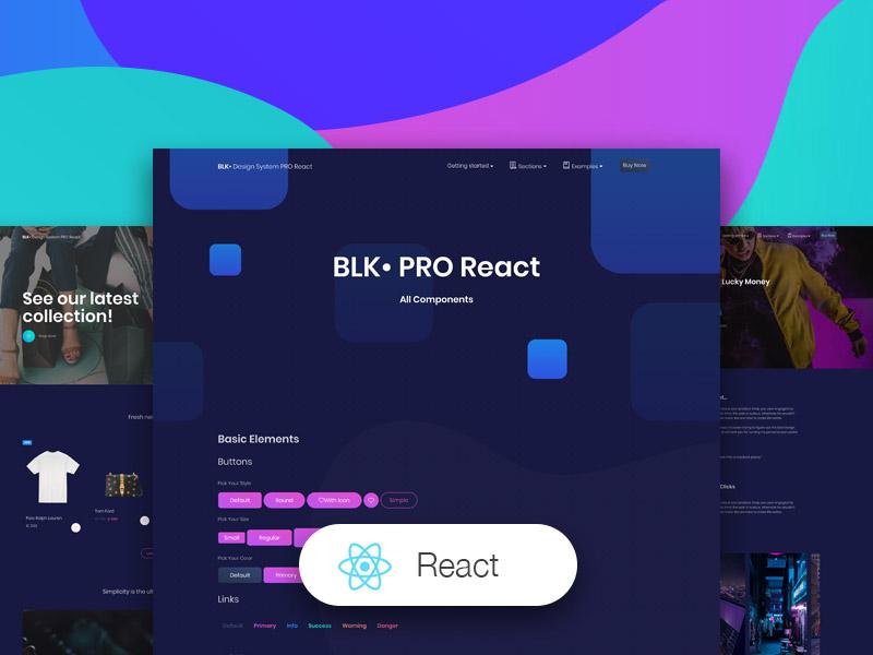 BLK Design System PRO React