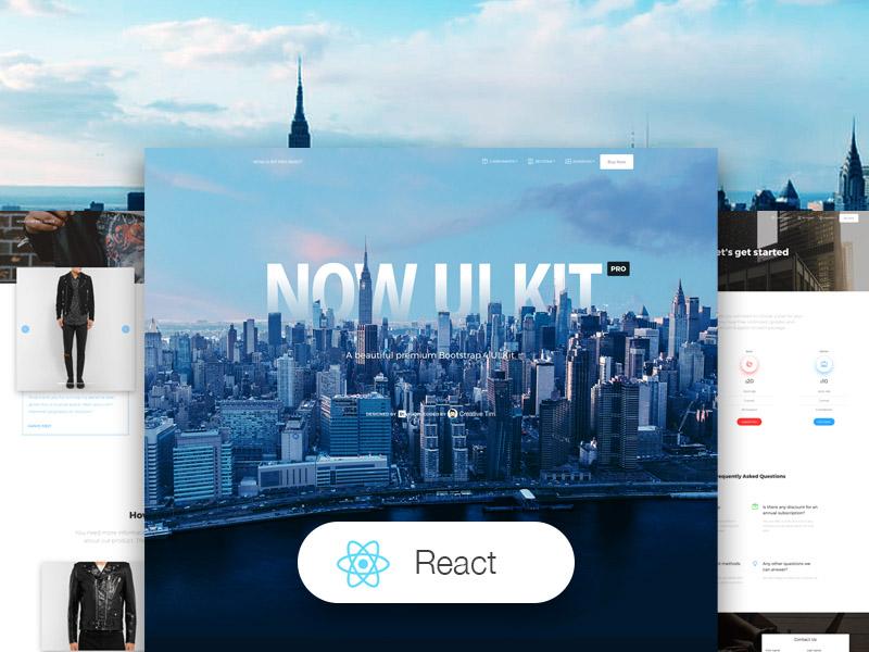 Now UI Kit PRO React