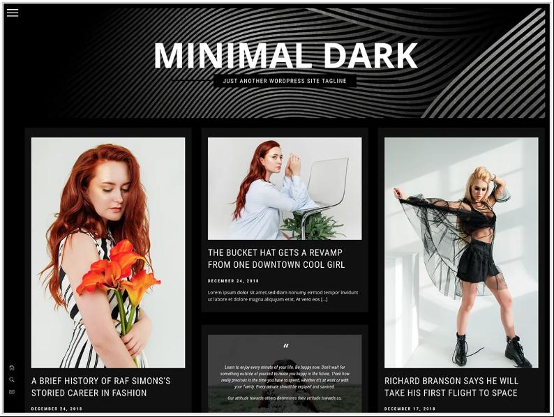 Minimal Dark Theme