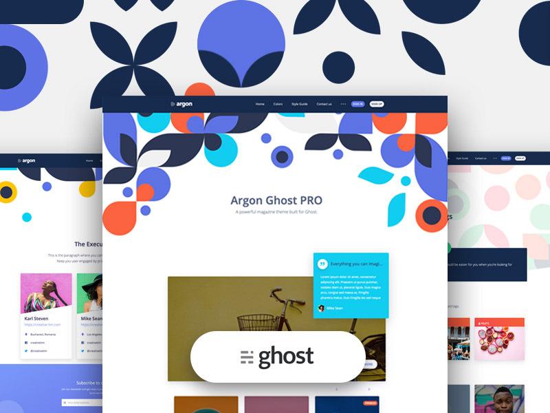 argon ghost pro