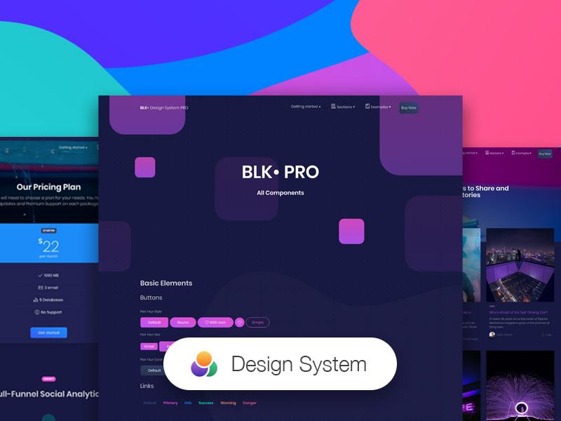 blk design system pro