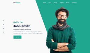 Freelancer web template